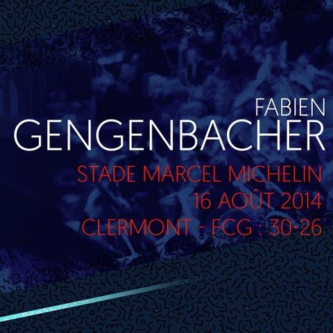 Rugby : Video - L'essai de Fabien Gengenbacher à Clermont en 2014