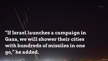 Hamas to 'shower' Israeli cities with missiles