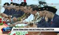 Jokowi Terima Siswa yang Ikuti World Skill Competition