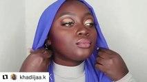 Tuto Hijab: Apprenez deux manières d'attacher votre foulard à la perfection. Magnifique !