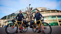 Pair cycling from London to Tokyo to help kick off 2019 Rugby World Cup