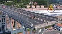 إيطاليا تحيي ذكرى انهيار جسر جنوة على وقع أزمة سياسية تهدد بانهيار الائتلاف الحاكم