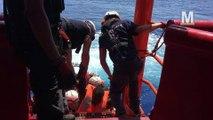Témoignage exclusif d'un sauveteur depuis l'Ocean Viking