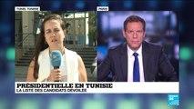 Présidentielle en Tunisie : 26 candidatures validées sur une centaine