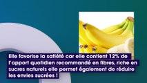 5 bonnes raisons de manger une banane par jour