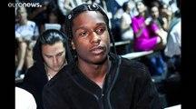 Le rappeur américain A$AP Rocky condamné à de la prison avec sursis