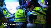 A Hong Kong, une femme blessée à l'œil devient le symbole de la révolte