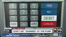 """Don't get """"skimmed"""" at the pump!"""