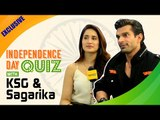 EXCLUSIVE: Independence Day Quiz with KSG and Sagarika Ghatge