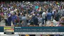 teleSUR Noticias: Marchan en Brasil en defensa de la educación