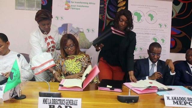 L 'État du Sénégal signe deux conventions de financement  avec la BAD