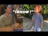 """Courteney Cox essaye d'apprendre le """"I Know"""" de Monica à un enfant"""