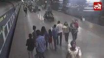RPF Constable Saves Life Of Senior Citizen Passenger Dragged By Vidarbha Express From CSMT