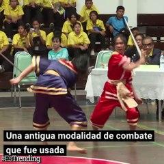 'Krabi Krabong', el antiguo arte marcial que toma popularidad entre los jóvenes tailandeses