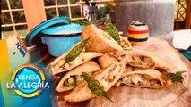 ¡Prepara estas ricas quesadillas de pancita en nuestro miércoles garnachero! | Venga La Alegría
