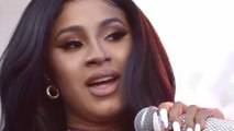 Cardi B discusses 'starvation wage' jobs with Bernie Sanders