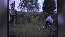 Stunts with bikes