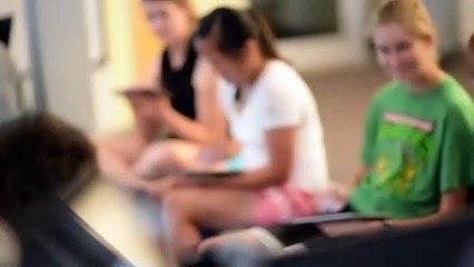 Cours de création musicale sur iPad à l'université Nebraska-Lincoln