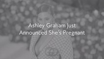 Ashley Graham Just Announced She's Pregnant