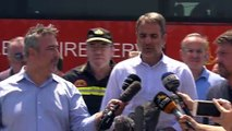 Στην Εύβοια ο Πρωθυπουργός: Άμεση αποτύπωση των ζημιών για την αποκατάσταση των πληγέντων
