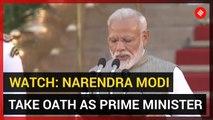 WATCH: Narendra Modi takes oath as Prime Minister