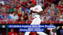 A New Rookie Home Run Record