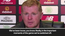 (Subtitled) Devastated Lennon says Celtic as a 'collective' are to blame for Champions League elimination
