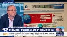 Chômage: Pari gagnant pour Emmanuel Macron ?