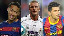 As disputas entre Barcelona e Real Madrid no mercado
