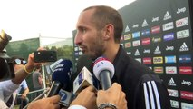 Inter and Napoli are Juve's greatest rivals for Serie A title says Chiellini