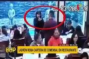 La Molina: simulan tomarse foto para robar cartera a clienta de exclusivo chifa