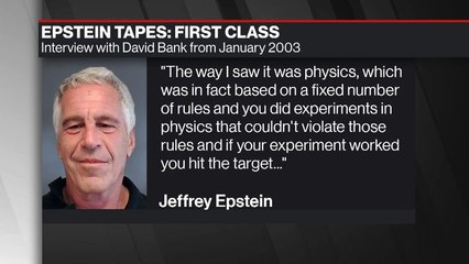 Epstein on How Finance Was Different Than Physics