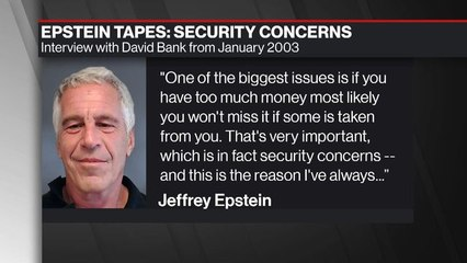 Epstein on Why He Liked to Keep Private