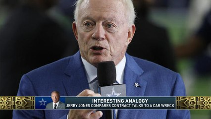 The Jim Rome Show: Jerry Jones makes bizarre analogy about contract negotiations
