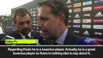 (Subtitled) Juventus sporting director fuels Dybala transfer rumours as he confirms negotiations are ongoing