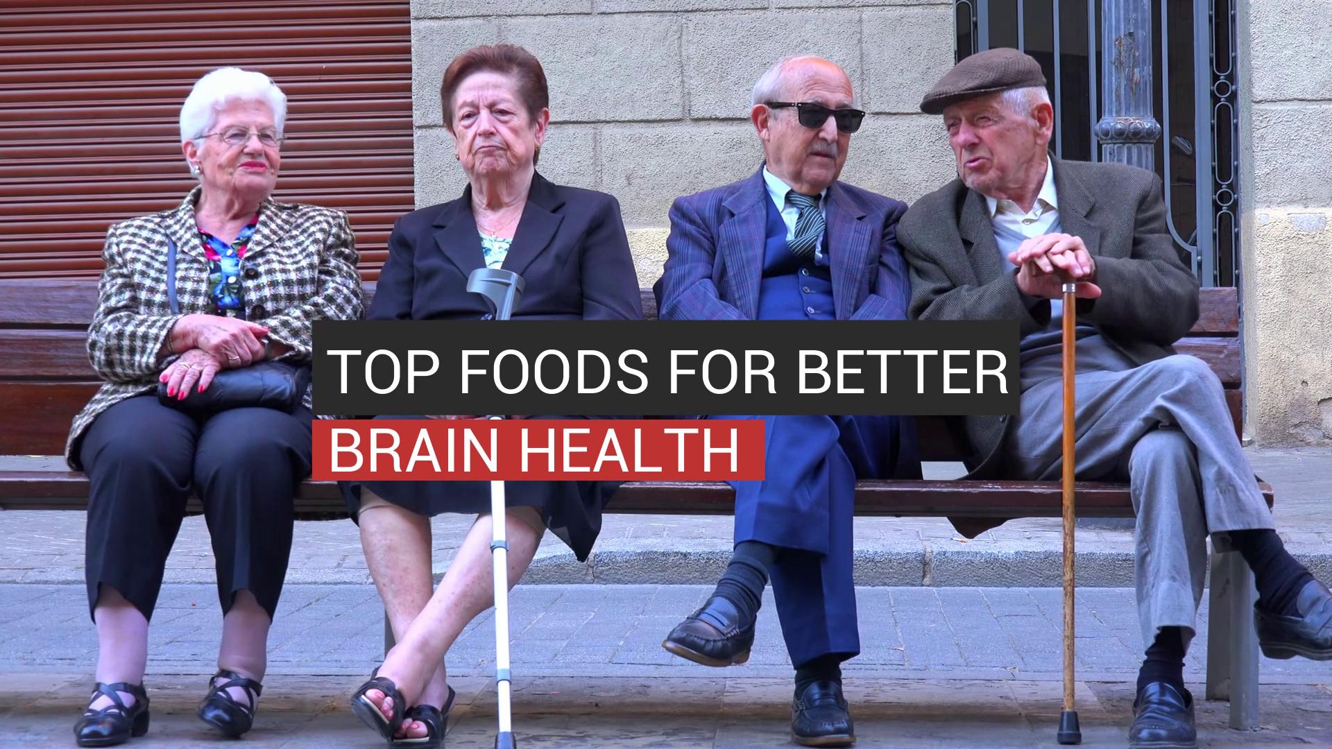 Top Foods For Better Brain Health
