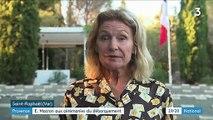Hommage : Emmanuel Macron à la cérémonie du débarquement de Provence
