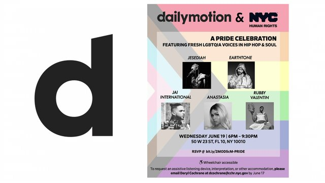 Dailymotion Pride Performance