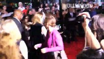 Cara Delevingne and Nat Wolff at Paper Towns premiere - Hollywood TV