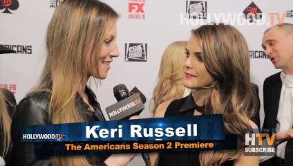 Keri Russell and Matthew Rhys The Americans Season 2 - Hollywood.TV