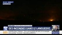 Incendie dans l'Aude: les autorités appellent les habitants à ne pas gêner l'arrivée des renforts