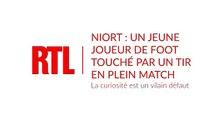 Niort : un jeune joueur de football du Mans touché par un tir de fusil en plein match