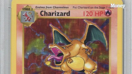 This first-edition set of Pokemon cards sold for $107,000 at auction