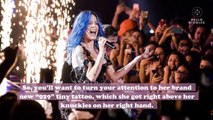 Halsey has a new teeny-tiny tattoo, and here's what we think it means