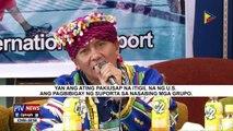 Tribal leaders na nagtungo sa US, nakabalik na sa Mindanao