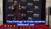 'Care Package' de Drake encabeza 'Billboard' 200