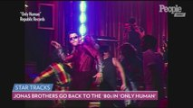 The Jonas Brothers Go Back to the '80s in Fun New Music Video for 'Only Human'