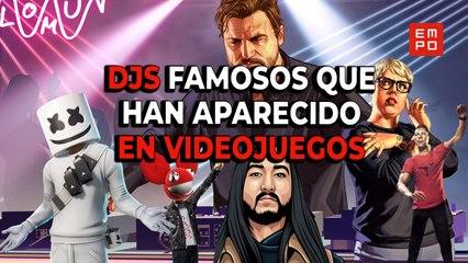 DJS FAMOSOS QUE HAN APARECIDO EN VIDEOJUEGOS