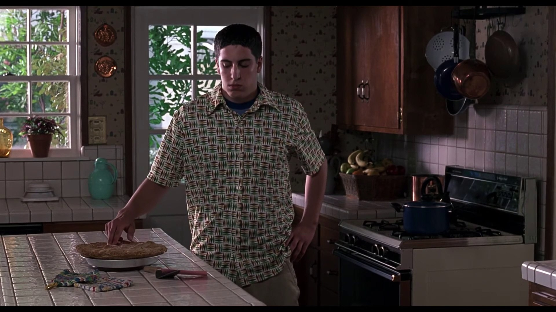 American Pie Uncensored Video american pie movie clip - the pie scene