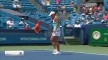 Barty breezes by Sharapova